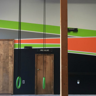 Funky Gym Wall